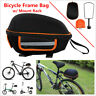 Bicycle Riding Bike Alloy Carrier Seatpost Pannier Pack Seat Bag with Rear Rack