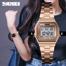 skmei fashion women's wristwatch full steel electronic led digital watch 1415 1x