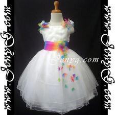 Robes blancs habillés pour fille de 4 à 5 ans