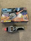 Playmates Star Trek Next Generation Phaser with box - Tested