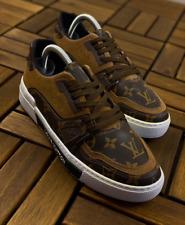 Louis Vuitton Brown Sneakers Men Shoes