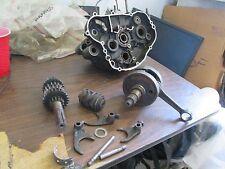 1986-1988 KDX200 Crankshaft Engine Cases Layshaft Forks Shift Drum Etc Parts Lot