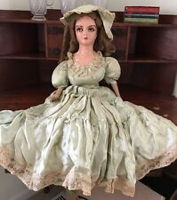 """1930s Or 1920s 26"""" French Countess Boudoir/ Bed Doll Antique/ Vintage"""