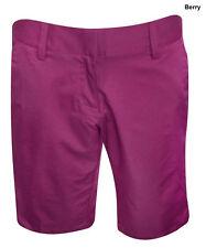New listing New Adidas Golf Bermuda Ladies Size-6 Berry Shorts