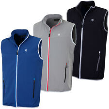 Island Green Mens Golf 1790 Water Repellent Bodywarmer Gilet 28% OFF RRP