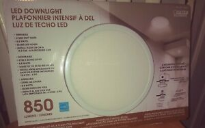 """Feit, Home Office Commercial 6"""" LED Downlight Retrofit 850 Lumens Dimmable"""