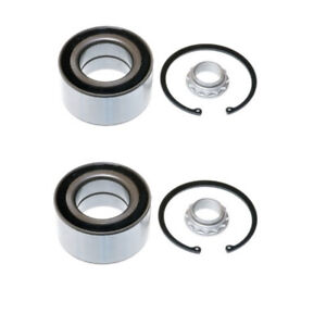 Optimal Front Left and Right Wheel Bearing Set 501158 fits BMW X5 E53 4.4i 3.0d