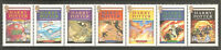 2007 The 10th Anniversary of the First Harry Potter Book Used Postage Stamp Set