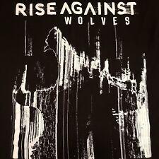 RISE AGAINST ~ Wolves Summer Tour 2017 SMALL T-shirt Anti Flag Me Punk Hardcore