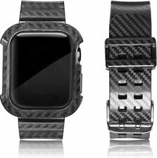 For Apple Watch Series 6 SE 5 4 3 44mm Bumper Case Cover Strap Band