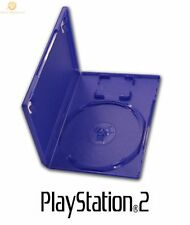 20 Official Original Genuine Playstation 2 PS2 DVD Game Empty Case Blue Cover