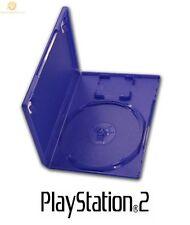 20 Oficial Original Genuino Playstation 2 Ps2 Dvd Juego Vacío Funda Tapa Azul