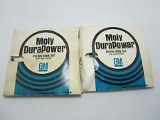 71-75 Chevrolet Vega 4-140 Moly DuraPower Single Piston Ring Set (2) NOS 3988745