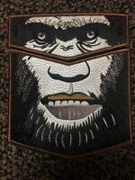 NEW! BIGFOOT OA LODGE 620 BSA 2018 NOAC 2-PATCH LEATHER CONTINGENT 65 MADE GLOWS