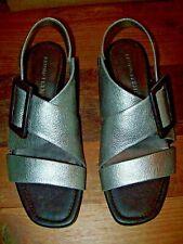 BRUNO PREMI top aktuelle Sandalette/Sandale Gr. 41 silber NEU/Karton NP 159,00 €