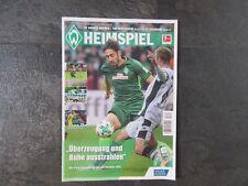 WERDER - HEIMSPIEL / Nr 056 / Werder - Hoffenheim  +  Werder - Augsburg