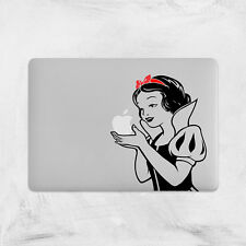 Snow White Decal for Macbook Pro sticker vinyl air mac 13 15 11 laptop skin fun