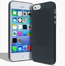 Black matte crystal super thin 0.3mm clear PP case cover skin for iphone 5 5S