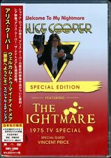 ALICE COOPER-WELCOME TO MY NIGHTMARE (LIVE AT THE EMPIRE POOL...)-JAPAN DVD L08