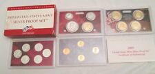 2009 Silver Proof Set U.S. Mint Box and COA 18 coins 6 State Silver Quarters