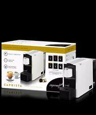 Espressotoria Caprista Espresso Coffee Pod Machine - White, NEW