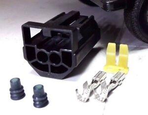 Headlamp Headlight Bulb Mount Connection Plugs x2 for Toylander Electric Car