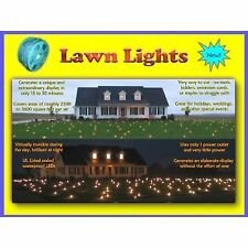 LED Outdoor Lawn and Yard Lights Decorations and Display. No Tools Required.
