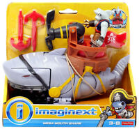 MEGA MOUTH SHARK pirates adventure Fisher Price NEW Imaginext pirate