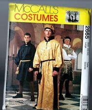 Retired McCalls 2665 Renaissance Medieval Costume PATTERN Mens 42 44 LARGE