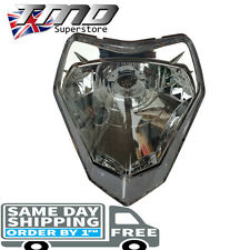 Universal Headlight Unit Lens Motorcycle Headlamp Lamp Light Street fighter KTM