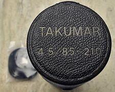Genuine Asahi Pentax Takumar 4.5/85-210 85-210mm f4.5 Lens Case Strap (#1368)