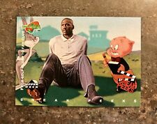 New listing Michael Jordan ( Space Jam ) 1996 Upper Deck Card #52 From Golf Clubs to Fan