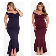 Prom Plus Size Sleeveless Dresses for Women
