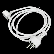 New EU AC Power Extension Cable/Cord for Apple Macbook Pro 13/15/17 UK
