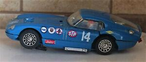 Vintage STROMBECKER 1/32 Slot Car #14 Cobra GT