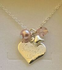 Engraved personalised girls daughter big sister MUMMYS PRINCESS necklace gift