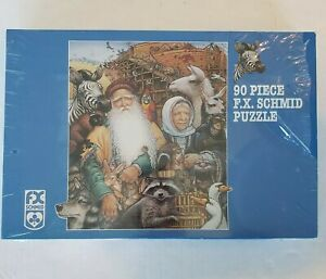 FX Schmid Keepers of the Kingdom 90 pc puzzle Richard Jesse Watson *Signed*