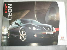 Seat Leon range brochure Oct 2005