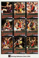 2009 AFL Teamcoach Trading Card Prize Team Set Essendon (11)