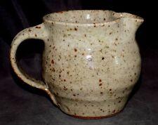 Old Jeff Oestreich Pottery Pitcher Cruet Creamer Warren MacKenzie Bernard Leach