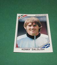 N°341 KENNY DALGLISH SCOTLAND ECOSSE PANINI FOOTBALL COUPE MONDE 1986 MEXICO WM