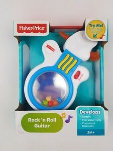 Fisher Price Rock N Roll Guitar 3M+ Sensory Motor Skills