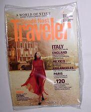 Conde Nast Traveler Magazine October 2011. Italy England Mexico Paris etc SEALED