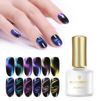 BORN PRETTY 6ml Gradient 3D Cat Eye UV Gel Polish Glitter Magnetic Gel Varnish