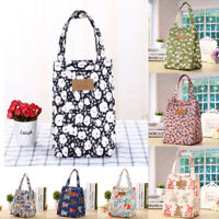 Insulated Lunch Bag Coolbag Work Picnic Adult Kids Food School Storage Lunchbox