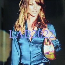 Gucci by Tom Ford 1995 Kate Moss Runway Bamboo Bag Hologram
