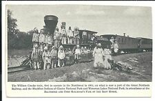 Great Northern RR Fair of the Iron Horse Vintage Original Postcard