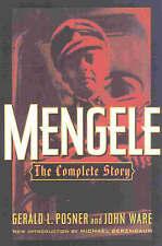 Mengele: The Complete Story by John Ware, Michael Berenbaum, Gerald L. Posner...