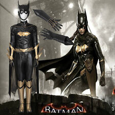 Original Arkham Knight Batgirl Cosplay Costume Outfit Hallowmas Any Size Mask