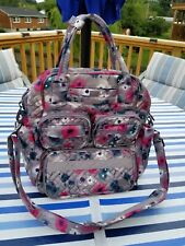 Lug Mini Puddle Jumper Ex. Cond. Tote Bag Purse Crossbody Diaper Crafts Planner
